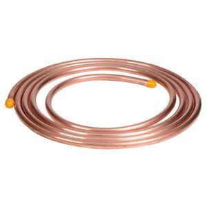 NEW 5m of 8mm copper, microbore, gas LPG plumbing pipe/tube water