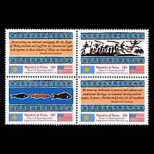Palau 1983 - Inauguration Of Postal Dienst Unabhängigkeit Art Sc 4a MNH