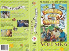 ROUND THE TWIST VOLUME 6 VHS VIDEO PAL RARE FIND AUSTRALIAN CHILDRENS TELEVISON
