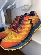 361 Men's Yushan Running Shoe Road, Hazard/Black, 11.5