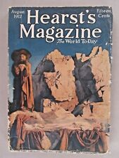 "Hearst's Magazine - August, 1912 ~~ Maxfield Parrish ""Snow Drop"" cover art"