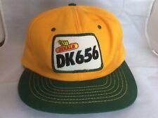 Vintage Dekalb DK656 Trucker Snapback Hat Cap Patch Swingster USA G11