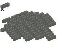 LEGO® - Bricks - Darkbluishgray - 3010-09 - 1x4 (50Stk) - Stein - Dunkelgrau