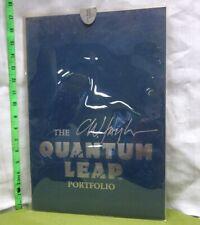 Quantum Leap Portfolio color art C. Winston Taylor 1992 comic covers