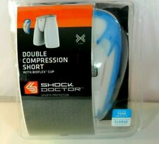 """Double Compression Short w/ Cup Boys X-Large Waist 30"""" - 32"""" Sports Protection"""
