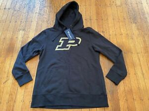 NWT Purdue Boilermakers Hooded Sweatshirt by Fanatics Youth or Women's Large