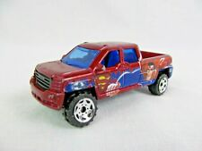 Matchbox 2001 Die Cast Car Red GMC Pickup Truck Superman DC Comics