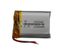 3.7V 1200 mAh Polymer Li battery For DVD GPS PDA Mp3 MP4 Camera Tablet PC 103040