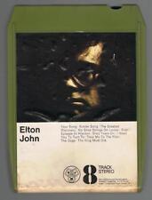 ELTON JOHN EIGHT TRACK CASSETTE CARTRIDGE