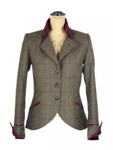 Timothy Foxx Isla Tweed Jacket In Duchess Tweed Size 12 Worn Once