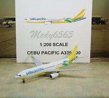 """Gemini Jets Cebu Pacific """"New Color"""" A330-300 1/200"""