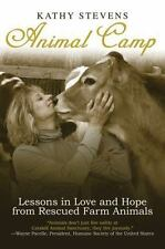 Animal Camp: Lessons in Love and Hope from Rescued Farm Animals-ExLibrary