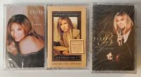 Barbara Streisand Collection Lot of 3 Vintage Cassette Tapes, Brand new, sealed