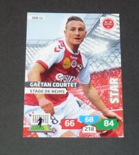COURTET STADE REIMS DELAUNE FOOTBALL ADRENALYN CARD PANINI 2013-2014