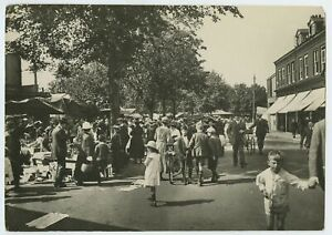Chelmsford Market Day 1919 Photo Frith