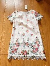 NEW LADIES YUMI FLORAL LACE DRESS UK 14 - TUNIC BNWT