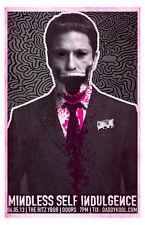 Mindless Self Indulgence * 11x17 Concert Poster rare limited tour print 2013 MSI