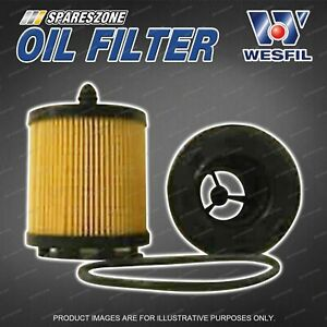 Wesfil Oil Filters for Mahindra Pik Up S5 2.5L CRD 4Cyl 16V DOHC Turbo