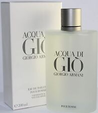 Acqua Di Gio by Giorgio Armani 6.7 Fl.oz/ 200 ml EDT