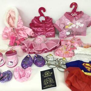 Bundle of Built-a-Bear Workshop Clothes & Accessories #454