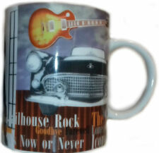 Elvis Presley Guitar Mug, Gifts for Music Fans, Rock & Roll, Tea, Coffee IC148