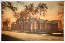Vintage Northwestern University NU Fraternity Postcard Evanston Illinois