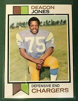 1973 Topps #38 Deacon Jones  VG-EX+ San Diego Chargers