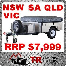 7x4FT RANGER CAMPER TRAILER CARAVAN OFF ROAD TENT PACKAGE! SYD MEL BNE SALE