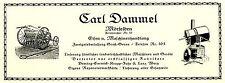 Eisenhandlung Dammel Mörfelden Relame von 1926 Maschinen Groß Gerau Werbung Ad