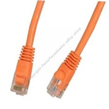 Lot15 5ft RJ45Cat5e Ethernet Cable/Cord$SH DISC{ORANGE{F
