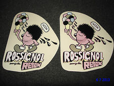 2 AUTHENTIC ROSSIGNOL RETOX PROMO STICKERS #10 DECALS AUFKLEBER