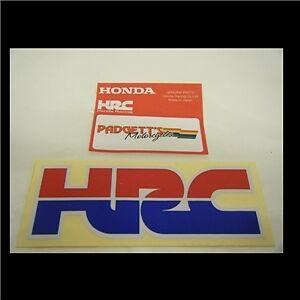 Genuine Honda Motorcycle Motorbike HRC Sticker