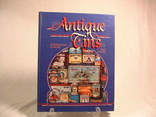 Antique Tins Identification and Values Reference Guide Book In Color