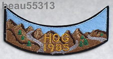 HARLEY DAVIDSON OWNERS GROUP HOG H.O.G. 1985 VEST PATCH 85