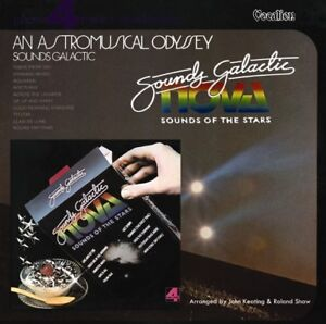 Sounds Galactic Astromusical Odyssey Keating 1970s CD