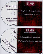 THE POPES 2 x UK promo test CD Angels/Outlaw Shane MacGowan