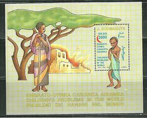 SOMALIA MNH SOUVENIR SHEET CHILDREN