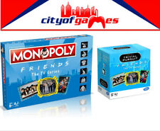 Friends The TV Series Monopoly & Trivial Pursuit Board Game Bundle In Stock