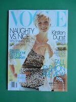 Vogue US July 2004 Kirsten Dunst Daria Werbowy Natalia Vodianova Liya Kebede 7