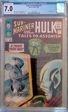 Tales to Astonish #72 (Marvel, 10/65) CGC 7.0 FN/VF (Sub-Mariner & Hulk)