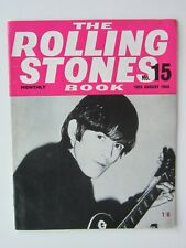 THE ROLLING STONES MONTHLY BOOK No 15   1965 ORIGINAL  ISSUE VERY GOOD CONDITION