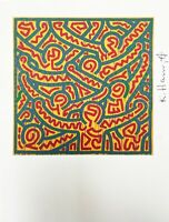 Keith Haring | Untitled, 1989. High Quality Color Lithograph