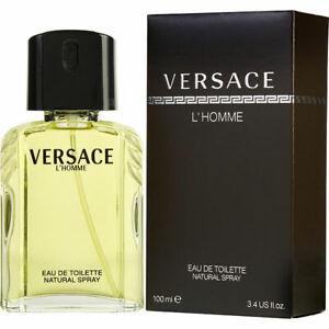 Versace L'Homme per Uomo 100 ml Eau de Toilette