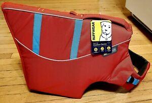 Ruffwear Float Coat Size XL Flotation Device For Dogs Sockeye Red New Tags On