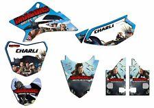 YAMAHA TTR50 2006-2016  SEMI CUSTOM GRAPHICS KIT STICKERS MOTOCROSS MX DECALS