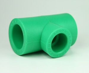 5 x PPR Aqua-Plus Reduzier-T-Stück 25 x 20 x 25mm, Fusiotherm