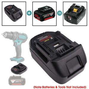 Battery Adapter For Bosch 18V Li-ion Battery Convert to Makita 18V Tool Adaptor