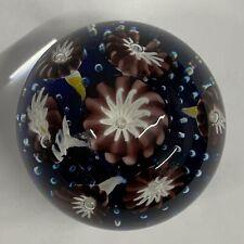 Beautiful Toffolo Venetian Glass Paperweight 7cm Diameter