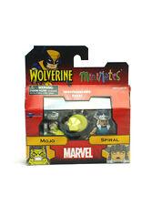 Marvel Minimates Mojo & Spiral Wave 72 Wolverine Series X-Men 2-Pack New