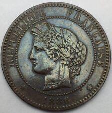 Ceres 10 centimes 1886 A bronze #740